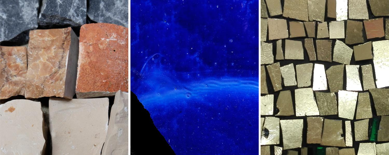 mosaico materia colore luce